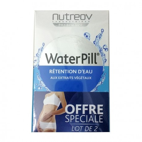 Nutreov water pill rétention d'eau duo 30 comprimés