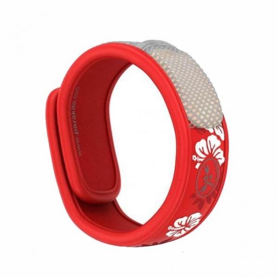Parakito Bracelet Anti-Moustique Rouge