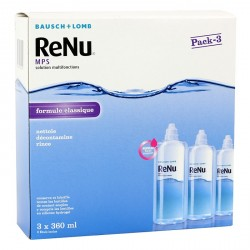 Renu MPS solution multifonctions 3 x 360 ml