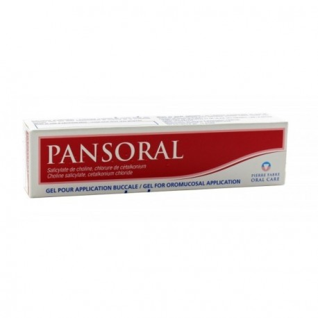 Pansoral Gel buccal adulte 15g