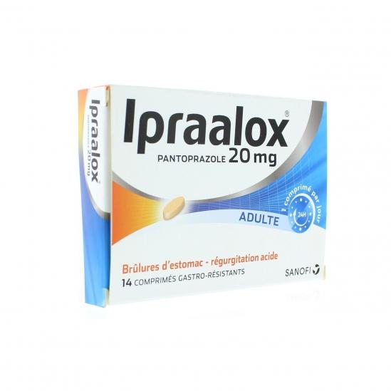 Ipraalox 20 mg 14 comprimés gastro-résistant