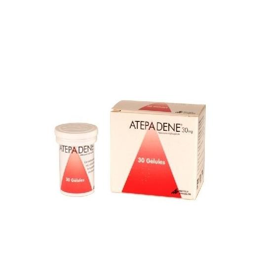 ATEPADENE 30 mg 30 gélules