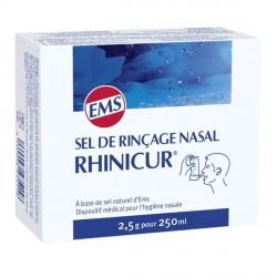 Rhinicur sel de rinçage nasale 20 sachets