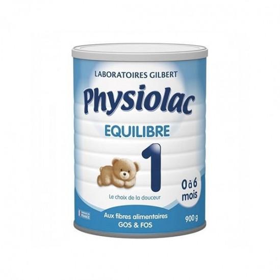 Physiolac Équilibre 1er âge 0 à 6 mois 900g