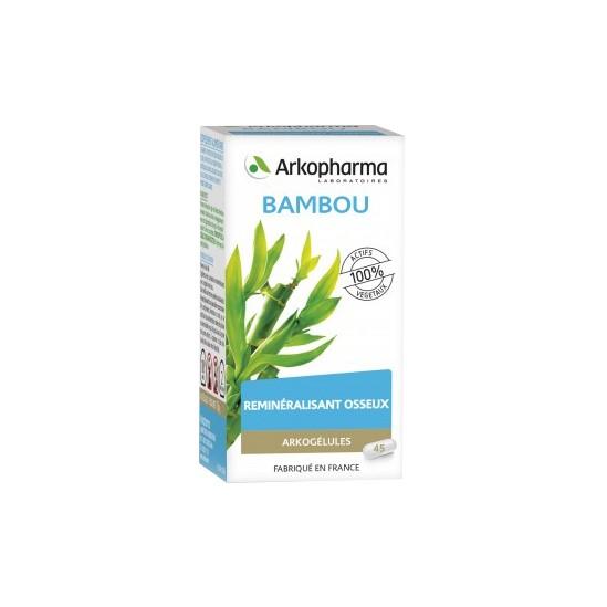 Arkopharma Arkogélules Bambou complément alimentaire 45 gélules