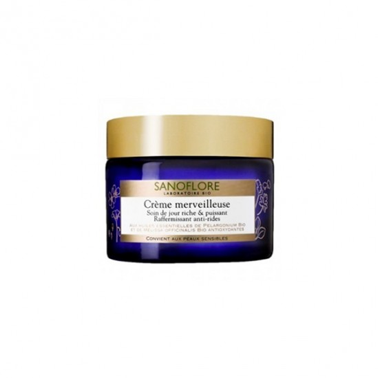 Sanoflore crème merveilleuse enrichie 40ml