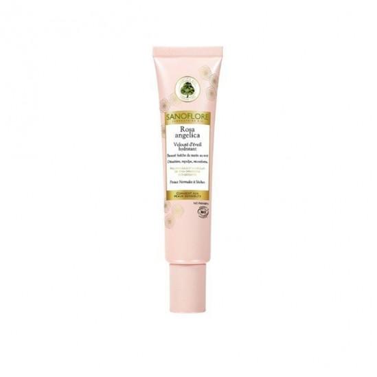 Sanoflore rosa angelica velouté d'éveil peau normale à sèche 40ml