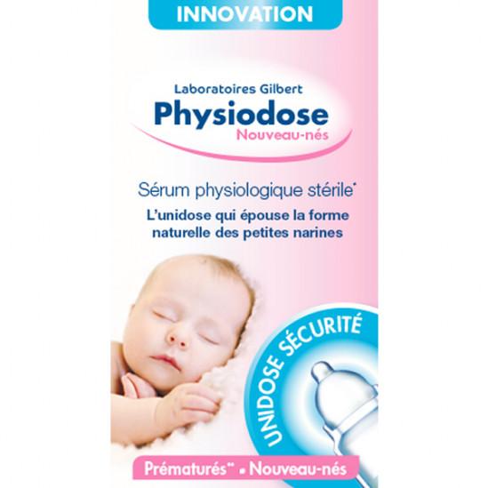 Gilbert physiodose sérum physiologique stérile 5ml