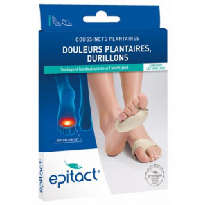 Epitact coussinets plantaires durillons taille S x2