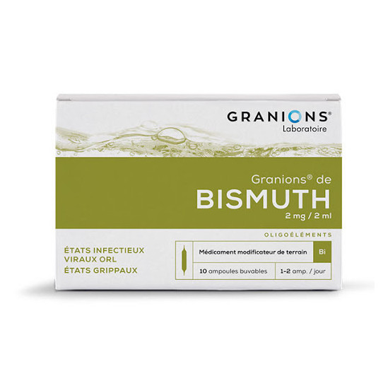 Granions de bismuth 2mg/2ml 20ml