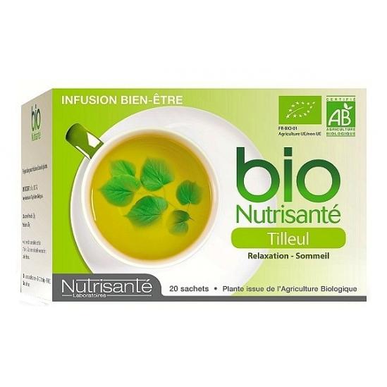 Nutrisante infusion bio Tilleul 20 sachets